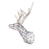 Multicolor Deer By Alter Ego