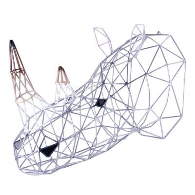 Silver Rhino by Alter Ego